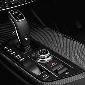 Maserati Levante Trofeo, shift lever
