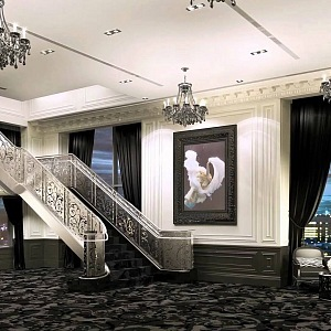 Interiér Trump Hotelu v Torontu