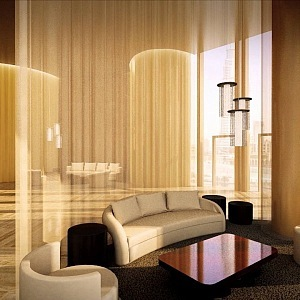 Dubai Marina interier Fendi Casa