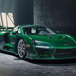 """McLaren Senna """"Fux Green"""""""