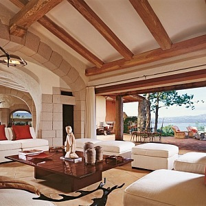 Středomořský styl v bydlení arch. Savin Couëlle