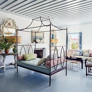 Středomořský styl v bydlení designérka Isabel López-Quesada