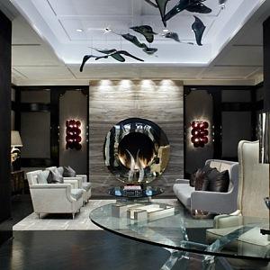 Eklektický interiér od Lennyho Kravitze