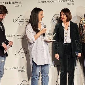 Melania Freire na Mercedes Benz Fashion Week Madrid