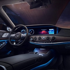 You always dazzle with Mercedes S