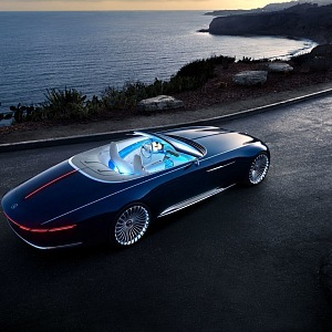 Mercedes Maybach 6, cabriolet