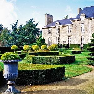 Chateau de la Ballue a jeho zahrada