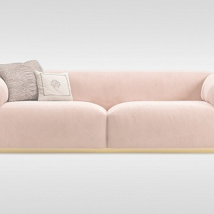 "Roberto Cavalli - pink sofa ""Malawi"""