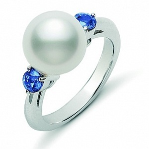Ring with a pearl Mikimoto