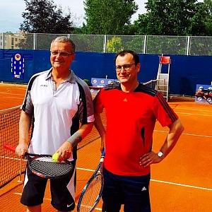 Miroslav Kalousek má rád tenis.