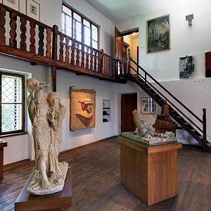 Bílkova vila - interiér, Galerie hlavního města Prahy