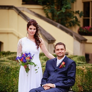 Martin Zach se na konci léta oženil.