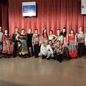 Děti na vystoupení v Moskvě.