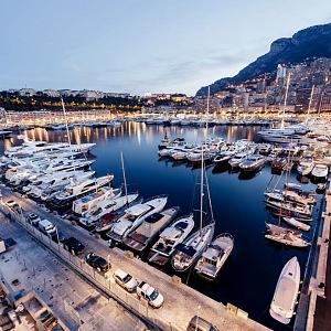 Monako a jachty