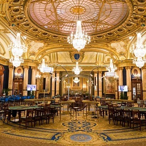 Monako interiér kasína