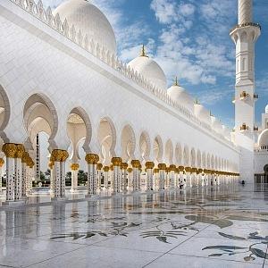 Luxusní architektura Středního východu