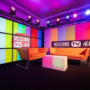 MOSCHINO TV studio