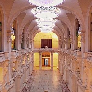 Decoration Museum in Paris, France.
