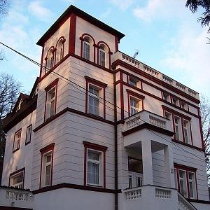 Krásná vila v Hodkovičkách