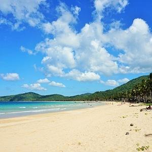 Pláž Nacpan, Palawan