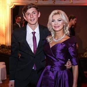 Natali se synem Filipem.