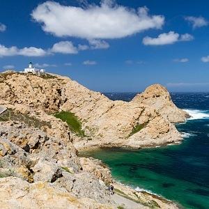 The beautiful coast of Corsica