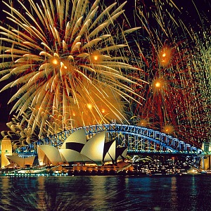 Silvestr v Austrálii, Sydney