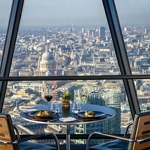 Luxusní výhled z restaurace