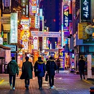 Noční život v Soulu