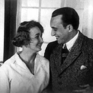 Se svou manželkou Alicí