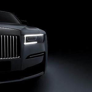 Interiér nového vozu Rolls-Royce Ghost