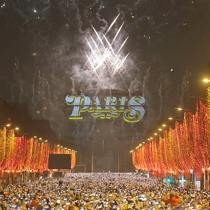 Oslavy Nové roku, Paříž