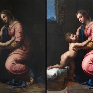 Rozdíl v před a po restaurování.