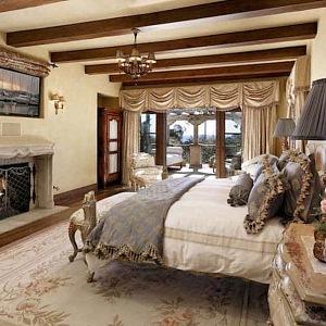 Sídlo v Santa Barbaře, obývací pokoj