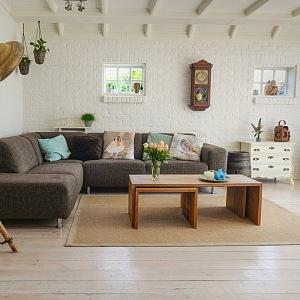Obývací pokoj podle lagom