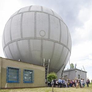 Libeňský plynojem otevřen v rámci Open House Praha