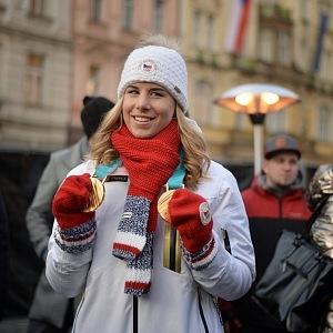 Ester Ledecká získala 2 zlaté medaile na ZOH