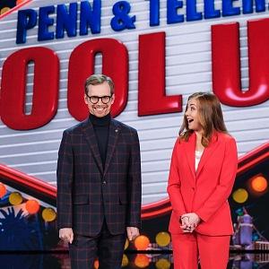 Na jevišti s Alyson Hannigan v pořadu Fool Us!.