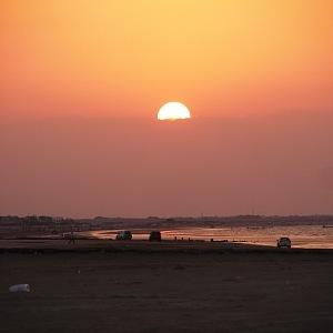 Al Sawadi beach – západ slunce