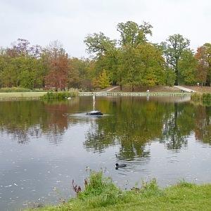 Nově zrekonstruované rybníky