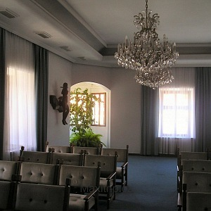Interiér Malovaného domu v Třebíči