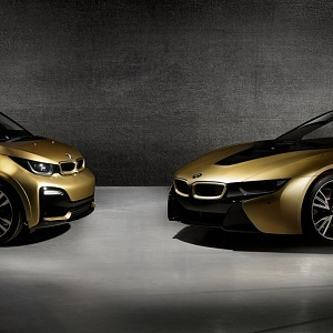 BMW i8 a i3 STARLIGHT Edition