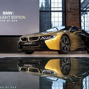 BMW i8 a i3 STARLIGHT Edition