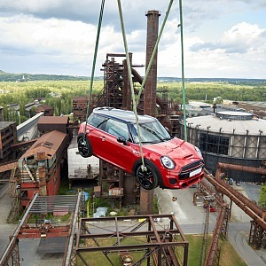 MINI John Cooper Works on the way to tower