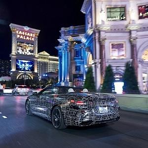 BMW řady 8 Cabrio na Strip Las Vegas