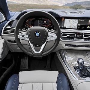 Luxusní pohled řidiče