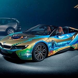 BMW i 8 Roadster 4 elements