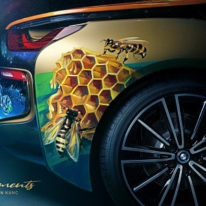 BMW i 8 Roadster 4 elements - detail