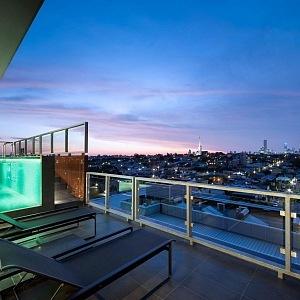 Jam architects/ Penthouse Victoria Austrálie
