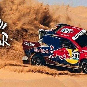 Plakat Peru Dejaria Rally Dakar 2019